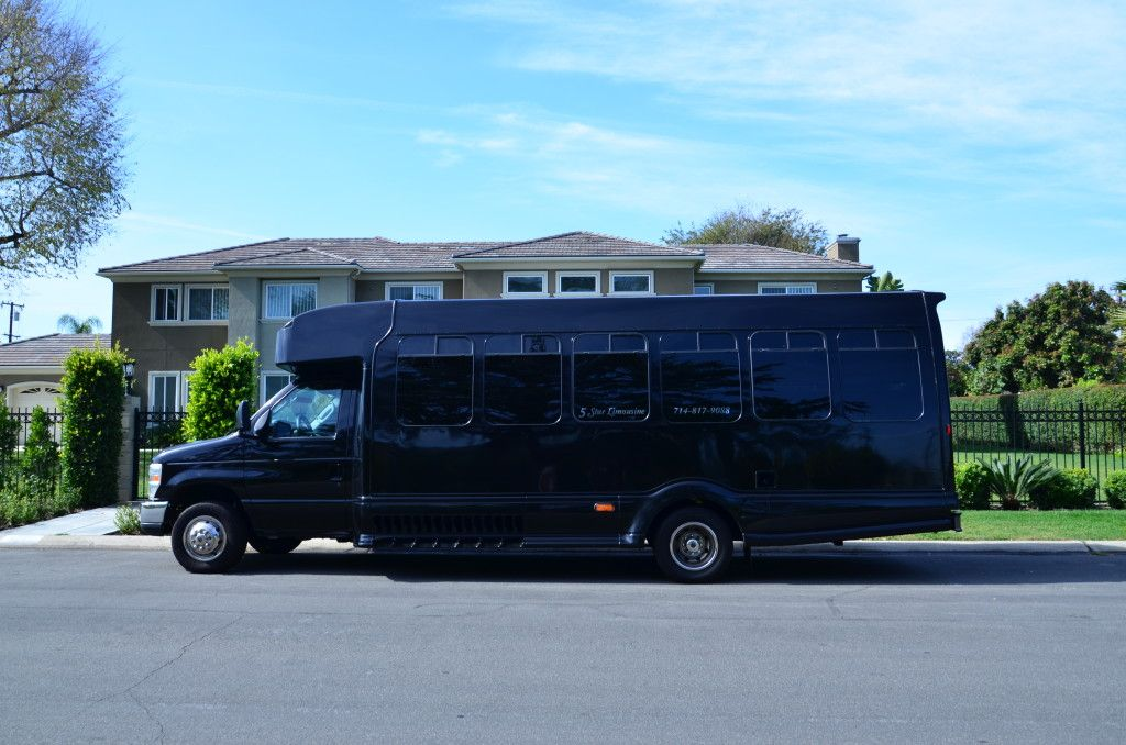 Limo Bus in Anaheim